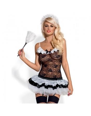 Housemaid Costume - Noir  Blanc