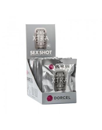 Masturbateur Sex Shot Xtra Dorcel - Blanc
