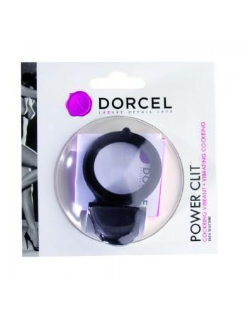 Cockring Vibrant Dorcel Power Clit - Noir