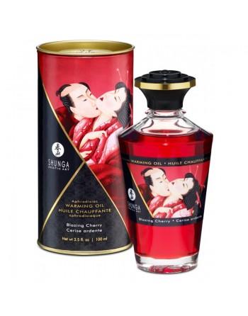 Huile chauffante aphrodisiaque - Cerise ardente 100ml