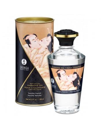 Huile chauffante aphrodisiaque - Vanille fétish 100ml