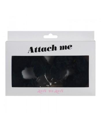 Menottes Attach me - Noir