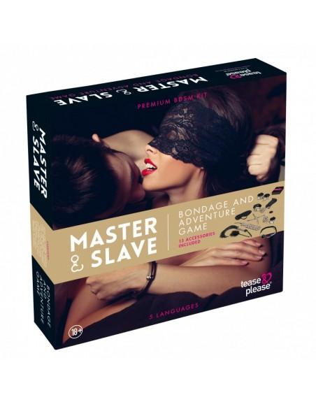 Master  Slave Premium - KIT BDSM