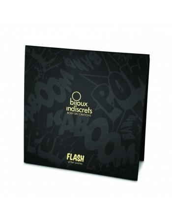 Flash - Cache tétons Coeur argent