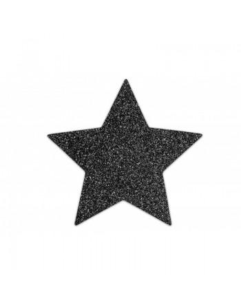Flash - Cache tétons Etoile noires