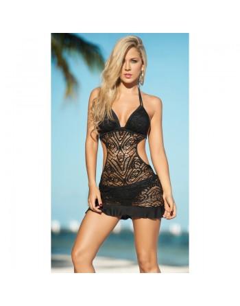 Robe de plage Style 1029 - Noir